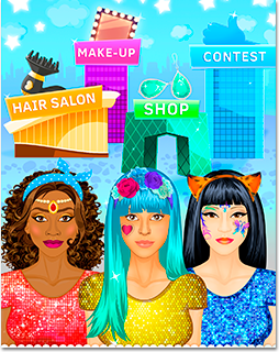 Beauty Salon for Girls